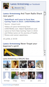 Fan Box de Lance Armstrong