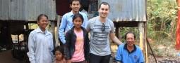 Rencontre au centre Enfants du Mékong de Sisophon